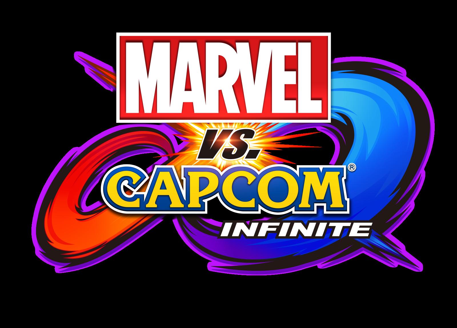Resultado de imagem para marvel vs capcom infinite logo png