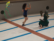 Ensaio de imprensa de Learning to Swim nas Piscinas do Areeiro.