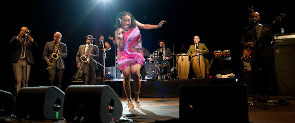 Sharon Jones & The Dap-Kings @ Cool Jazz Fest
