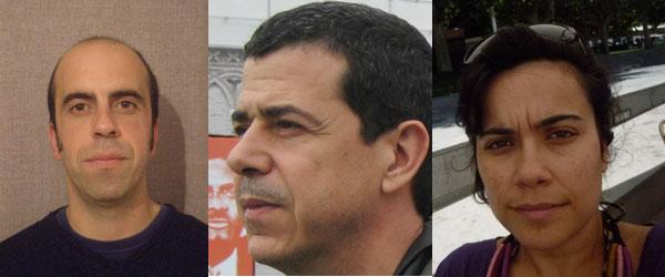 Fernando Carrilho, João Rapazote e Madalena Miranda