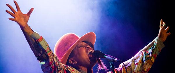 Erykah Badu @ Cascais Music Festival (19.7.2012)