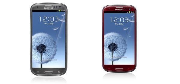 Samsung GALAXY S III: Novas Cores