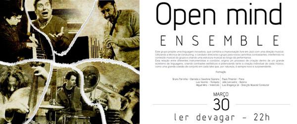 Open Mind @ Ler Devagar (30.03.2013)