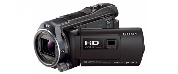 Sony HDR-PJ650