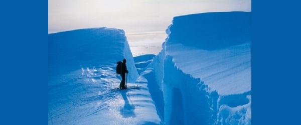 """Scott e Amundsen à conquista do Polo Sul"" | Peter Laufmann"