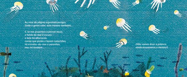 """Uma Onda Pequenina"" | Isabel Minhós Martins e Yara Kono"