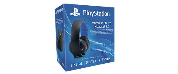 PlayStation lança novos auscultadores