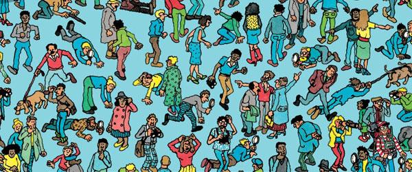 """""""Onde está o Wally?""""   Martin Handford"""