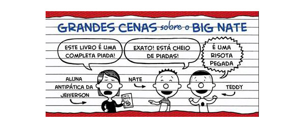 """Big Nate – O Que É Que Podia Correr Mal?"" 