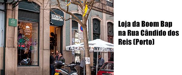 Boom Bap Store - Rua Cândido dos Reis