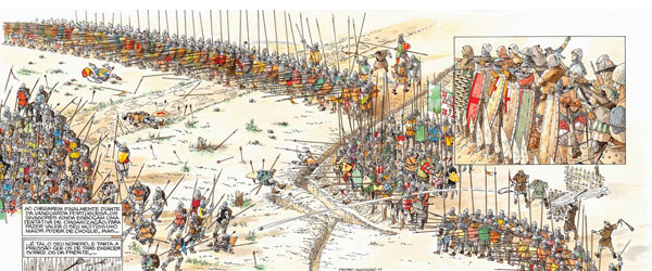 """Batalha – 14 de Agosto de 1385"" | Pedro Massano"
