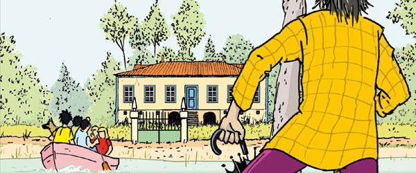 """Uma aventura na casa da lagoa"" | Ana Maria Magalhães e Isabel Alçada"