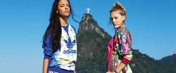 O inverno tropical da Adidas Originals