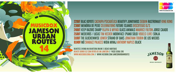Jameson Urban Routes 2014 | Antevisão