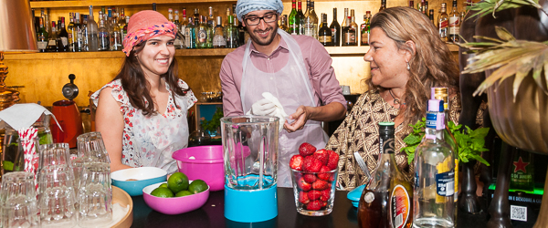 Workshop Taping y Daiquiris – Volver by Chakall