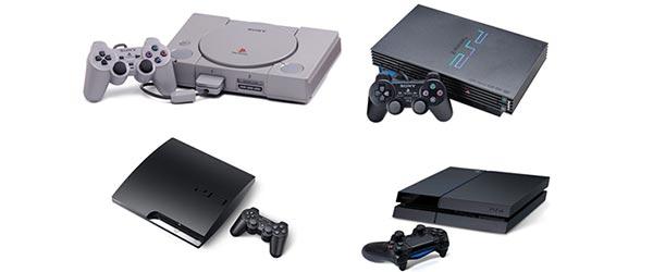 A evolução da Playstation
