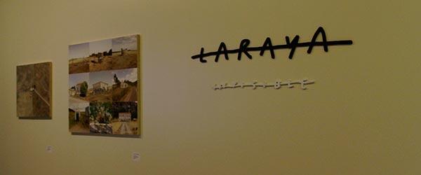 Objetos Fronteiriços em exposição