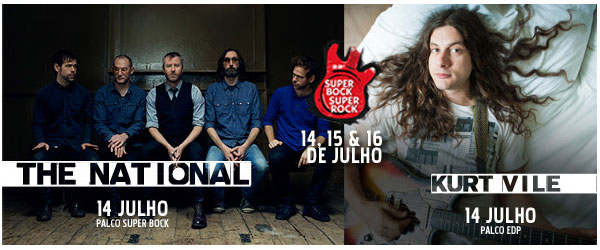 The National e Kurt Vile no SBSR 2016