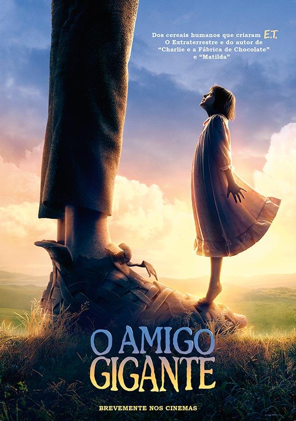 O AMIGO GIGANTE, O NOVO FILME DE STEVEN SPIELBERG, ESTREIA EM PORTUGAL NO DIA 7 DE JULHO