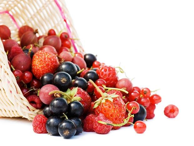 Comer Saudável - Frutos Vermelhos