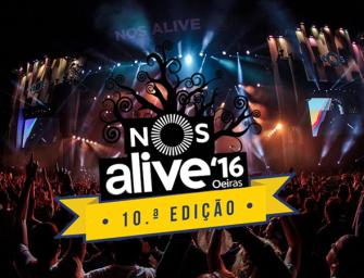 NOS ALIVE 2016 – Em Directo