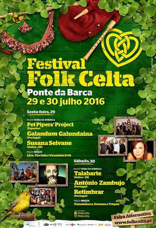 9º Festival Folk Celta dias 29 e 30 de Julho em Ponte da Barca