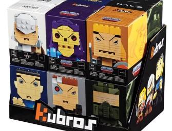 Mega Bloks lança série de figuras Kubros