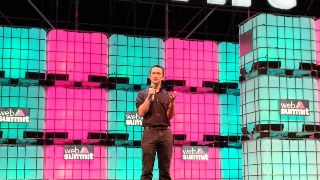 Joseph Gordon-Levitt - Websummit 2016 - hitRECord