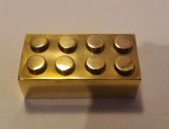 Peça de Lego mais cara do mundo