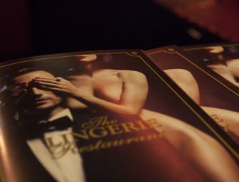 The Lingerie Restaurant – Erotismo à mesa