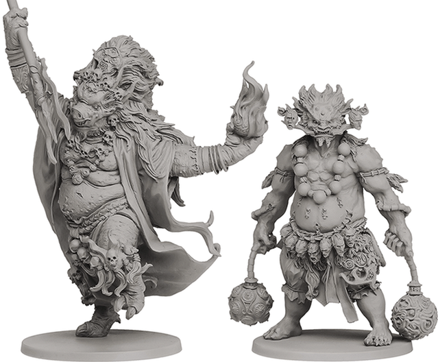 Miniaturas: Oni of Hate e Oni of Blood