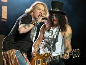 Guns'N'Roses no Passeio Marítimo de Algés