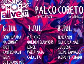 NOS Alive! 2017 | Palco Coreto by Arruada