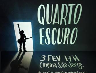 """""""Quarto escuro"""" dia 3 de Fevereiro no Cinema São Jorge, Lisboa"""