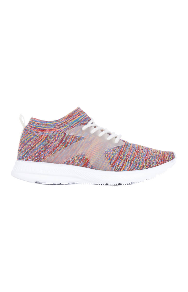 Knit Sock Mid Top Multi, EU16, $18
