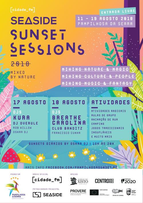 Cartaz_Festival Seaside Sunset Sessions 2018-