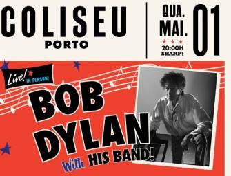 Bob Dylan no Porto a 1 de Maio
