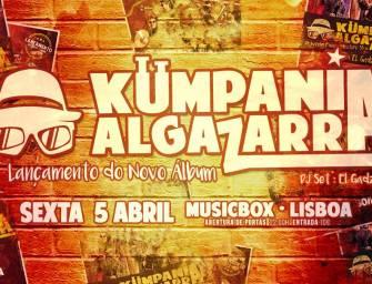 """""""Let's Go"""" ao Musicbox com os Kumpania Algazarra"""