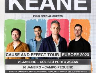 "Keane | Tour ""Cause and Effect"""