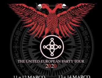 The Mission e a The United European Tour