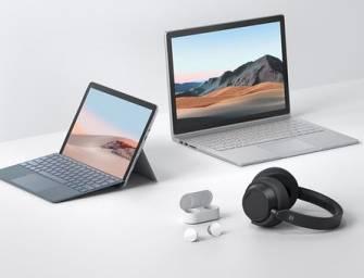Microsoft anuncia o lançamento de novos equipamentos Surface