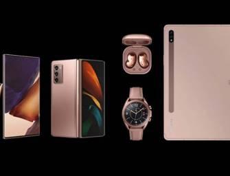 Samsung Galaxy 2020 Lineup