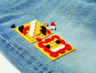 LEVI's e LEGO: Arte para vestir