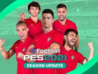 eFootball PES 2021 – Parceria FPF e KONAMI