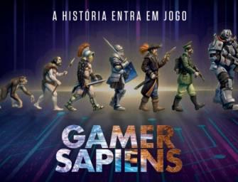 """HISTÓRIA estreia """"Gamer Sapiens"""""""